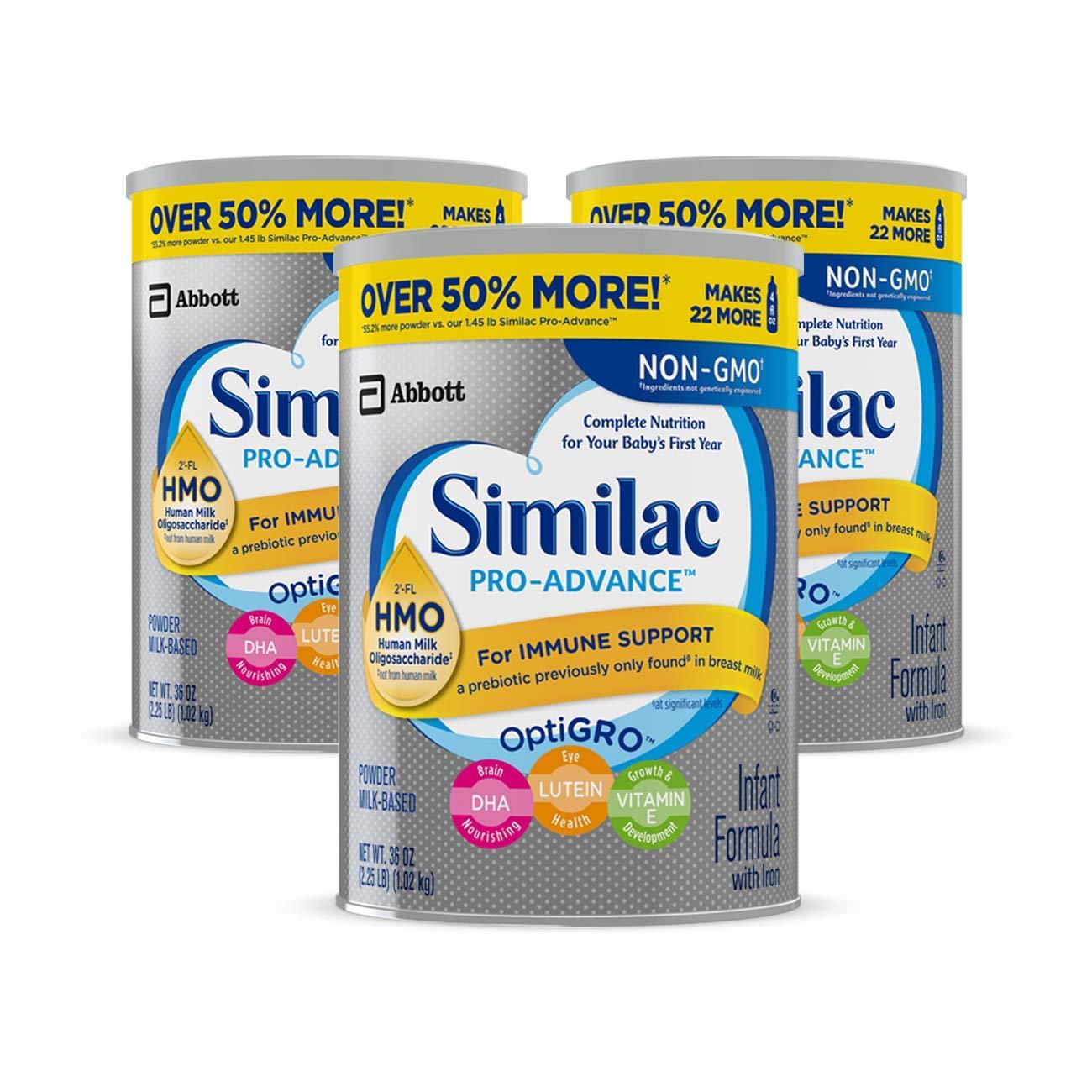 Similac Pro Advance Vs Enfamil Gentlease Nylcare Com